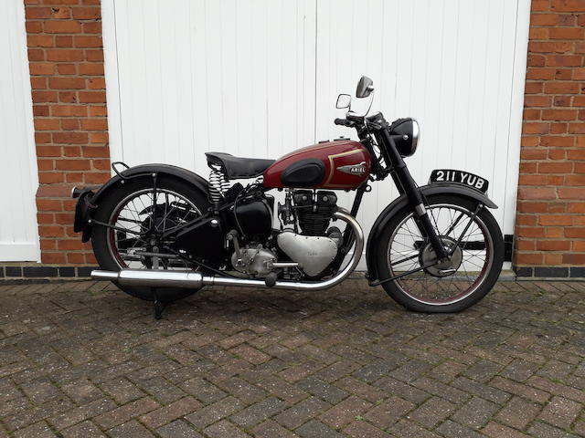 1951 Ariel KH500 Twin Frame no. WB627 Engine no. none visible