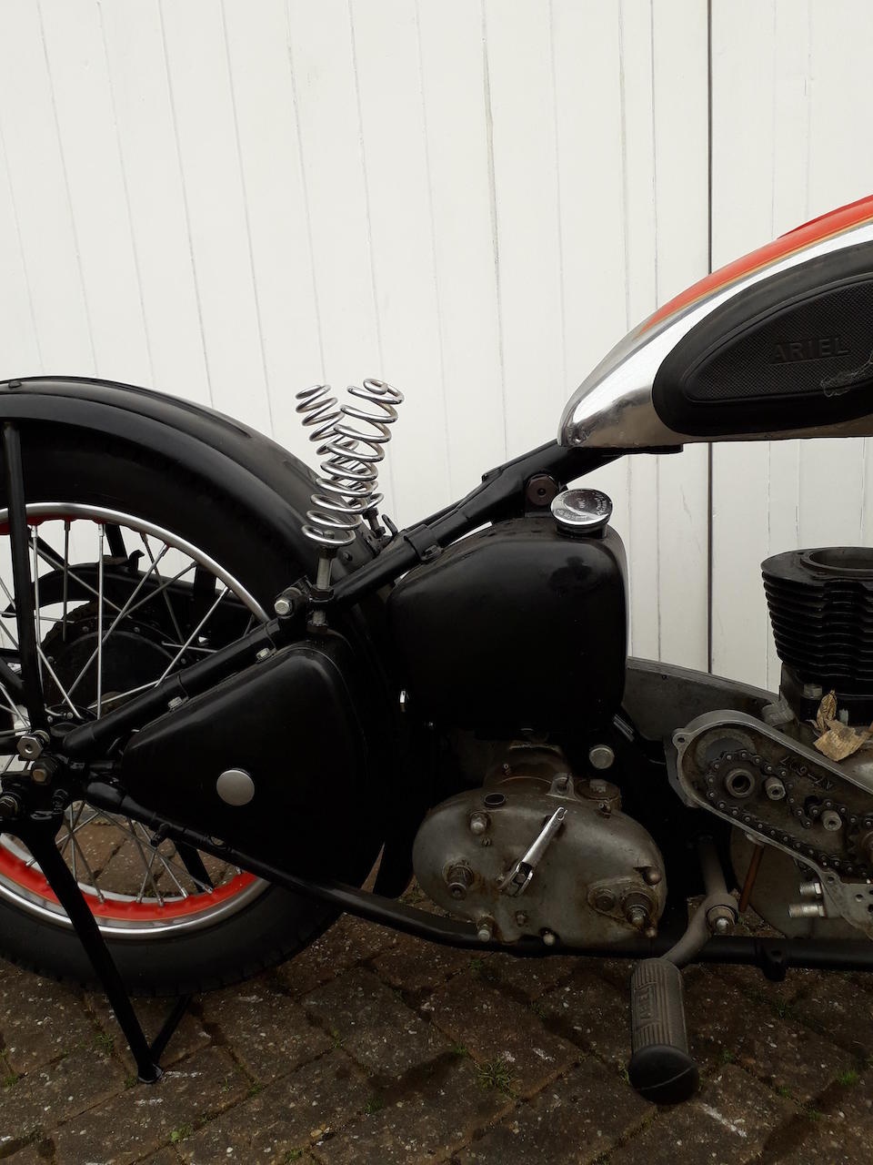 1938 Ariel 497cc Red Hunter Project Frame no. XG 5539 Engine no. None visible