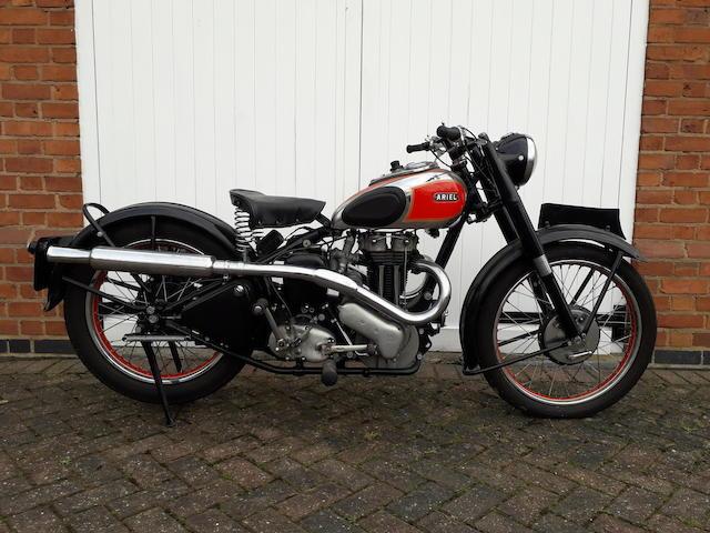 1948 Ariel 350cc Red Hunter Frame no. BP 14512 Engine no. AJ 2196 (see text)