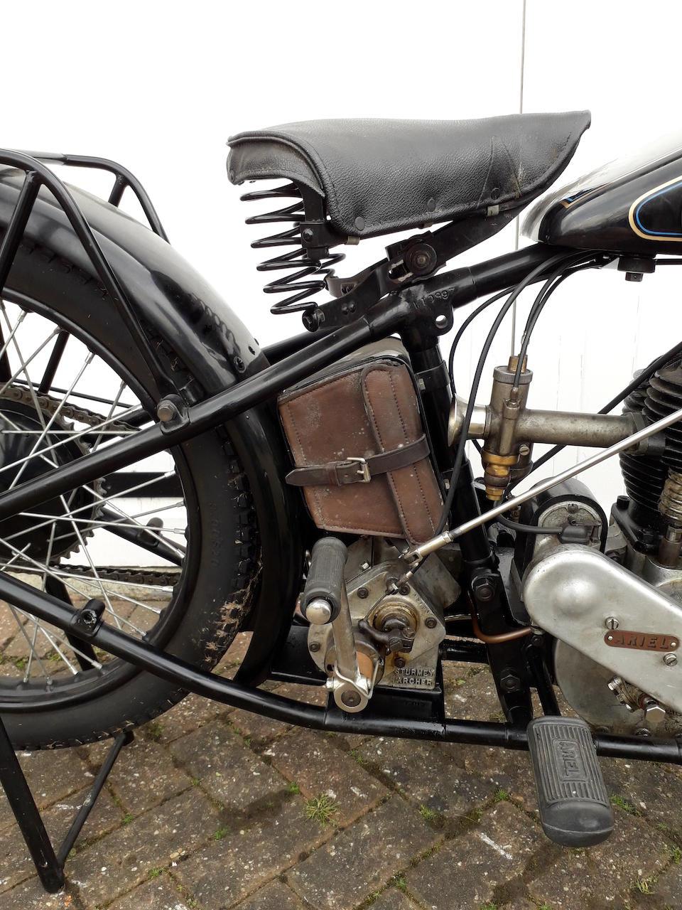 1928 Ariel 557cc Model A Project Frame no. W.10997 Engine no. W10260