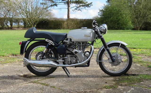 1966 Velocette 499cc Venom Thruxton Frame no. RS 18824 Engine no. VMT 336