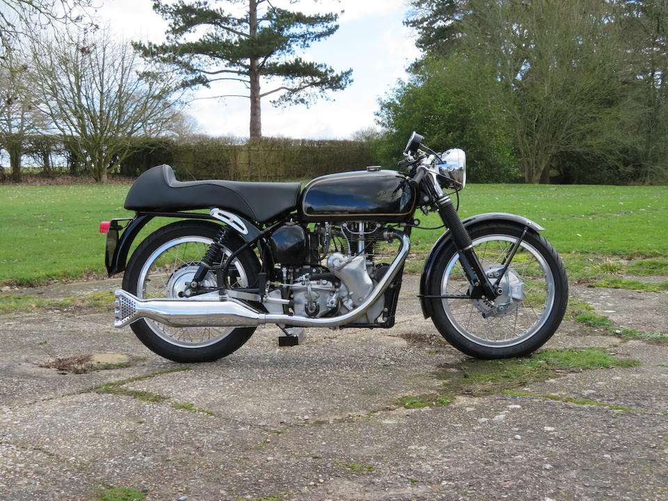 1964 Velocette 499cc Venom Clubman Frame no. RS 18036 Engine no. VM 5872