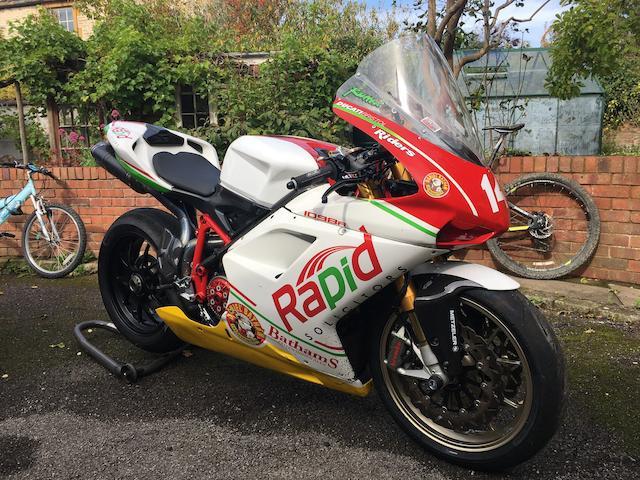 Ex-Michael Rutter, 2011 Isle of Man TT, 2011 Ducati 1098R Superstock Racing Motorcycle Frame no. ZDMH702AB8B016180 Engine no. ZDM1198W4000985