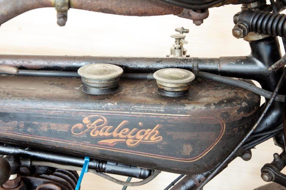 1924 Raleigh 2¾hp Frame no. 5754 Engine no. 53835