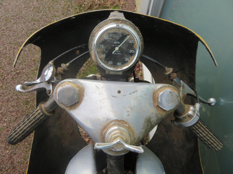 c.1952 Ariel 499cc Special Frame no. None Visible Engine no. TCA381