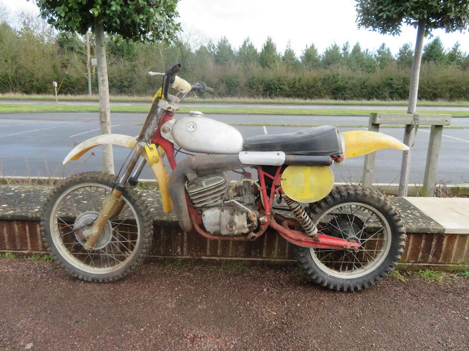 c.1979 CZ 380cc Moto-Crosser Project Frame no. none (VIN plate missing) Engine no. 981 5 003817