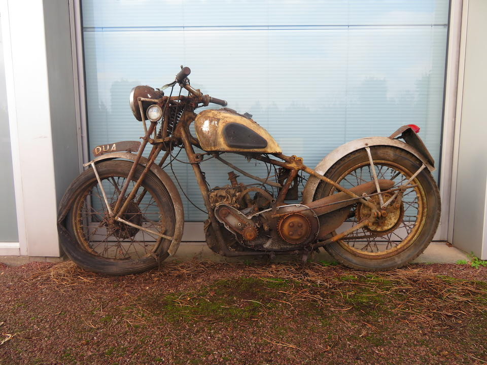 1936 Calthorpe 350cc Brooklands Ivory Special Project Frame no. unclear (corroded) Engine no. K4/1517