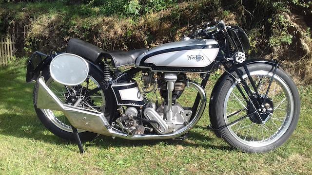 1933 Norton 490cc Model 30 International Frame no. 47075 Engine no. 55305 (see text)