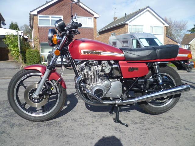1978 Suzuki GS1000 Frame no. 513912 Engine no. 120444