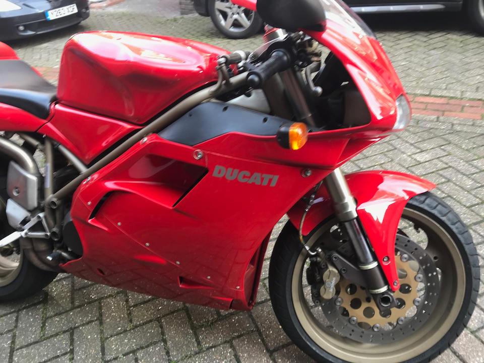 1999 Ducati 748 Biposto Frame no. ZDM748S008813 Engine no. ZDM748W008866