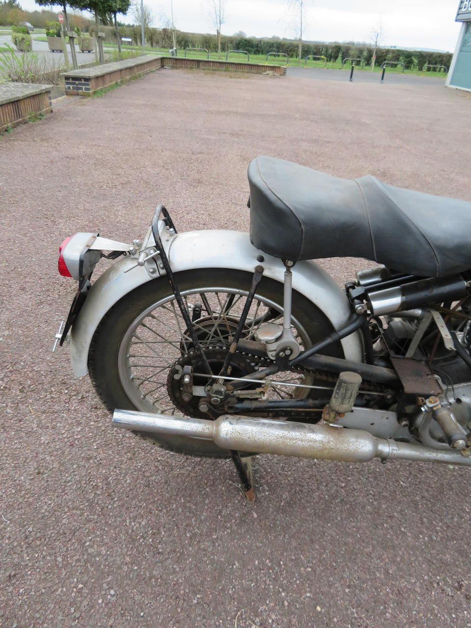 Property of a deceased's estate,1951 Vincent 998cc Series-C Black Shadow Frame no. RC9661B Engine no. F10AB/1B/7761  Crankcase mating no. VV17 / VV17