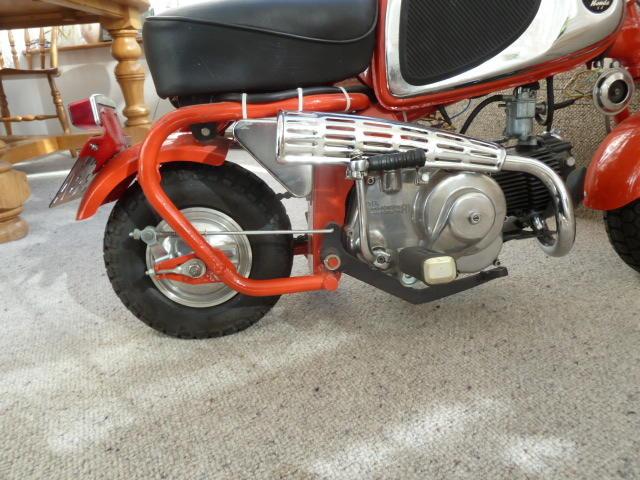 1963 Honda 50cc CZ100 'Monkey Bike' Frame no. S00367 Engine no. C100E-248491