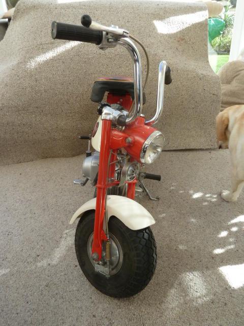 1967 Honda Z50M Monkey Bike Frame no. Z50M-103133 Engine no. Z50ME-113230