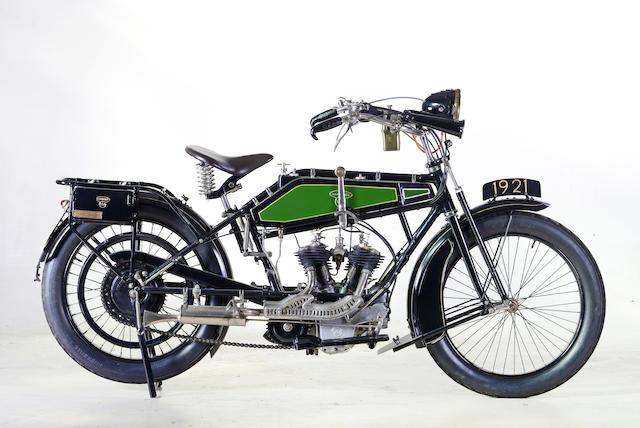 1921 Wanderer 616cc V-Twin Frame no. 1027 Engine no. 27725L