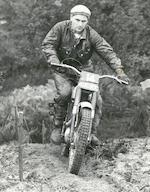 The ex-works; Jeff Smith, 1960 BSA 250cc C15T Trials Frame no. C15S 1893 Engine no. C15T 1098