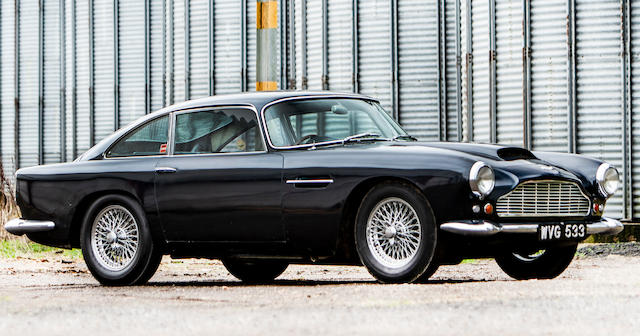 Property of a deceased's estate,1961 Aston Martin DB4 'Series III' Sports Saloon  Chassis no. DB4/619/R