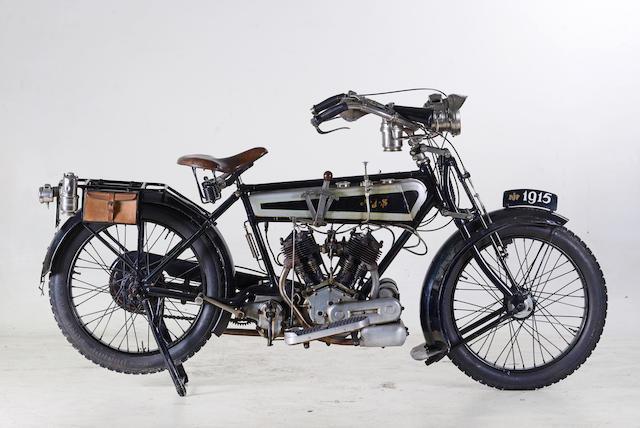 1915 AJS 748cc Model D Frame no. to be advised Engine no. 6784