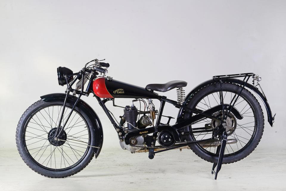 1929 Coventry Eagle 249cc Frame no. 4014 Engine no. 95507