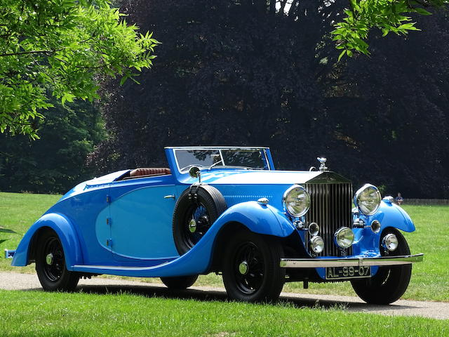 1936  Rolls-Royce  Phantom III Drophead Coupé  Chassis no. 3AZ72