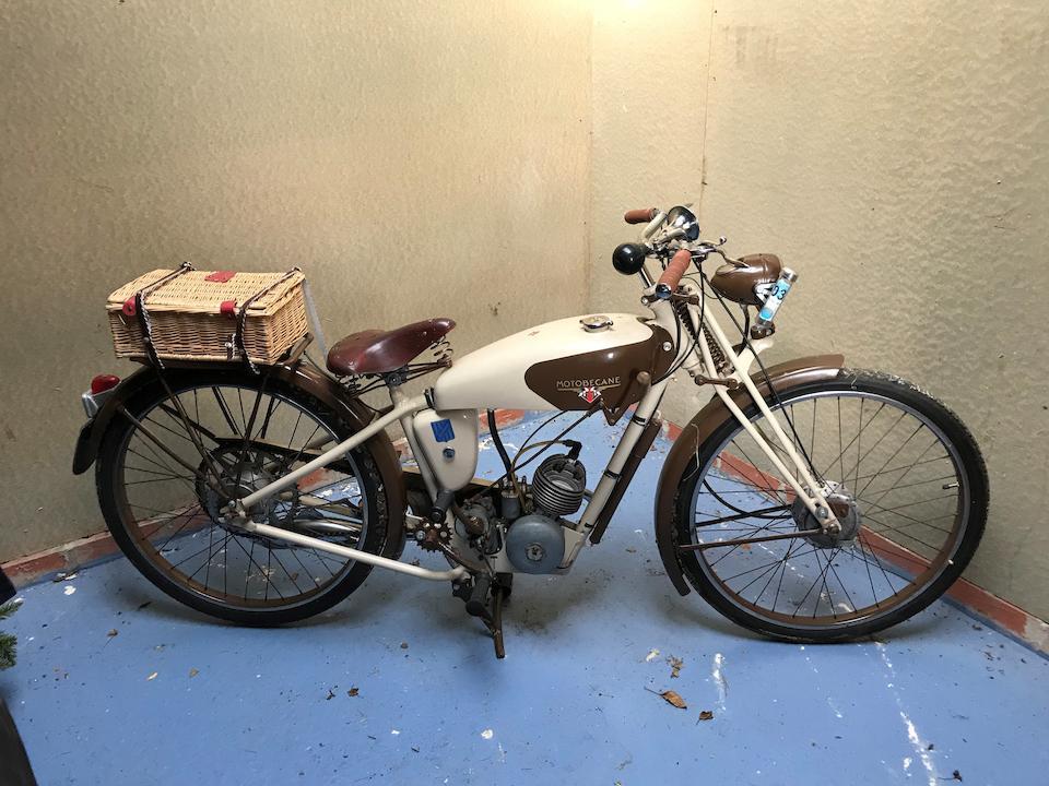 1938 Motobécane 63cc Lightweight Frame no. 443006 Engine no. 443038