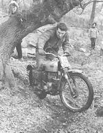 The ex-works; Roy Peplow, 1961 Triumph 490cc Trials Frame no. H24122 Engine no. T100A 424122