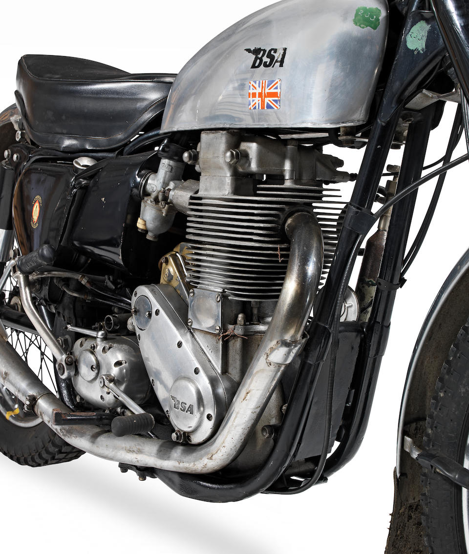 The ex-Mike Martin; 1958 ISDT, 1953 BSA 500cc Gold Star Trials Frame no. BB32 R 105 Engine no. BB34 GS 249 (appears re-stamped)