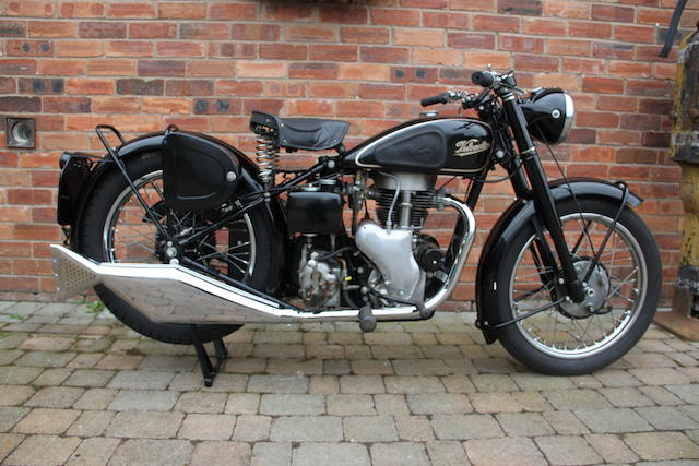 Property of a deceased's estate, 1951 Velocette 349cc MAC Frame no. 9597 Engine no. MAC 24040