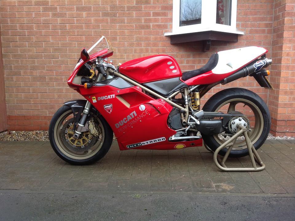 1998 Ducati 996cc 916 SPS Frame no. ZDMH100AAWB001453 Engine no. ZDM996W4001614