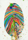 Marc Quinn (British, born 1964) Prismatic Labyrinth  Digital print with hand-applied oil paint, 2018, a fine and unique impression aside from the edition of 60, 2018, on Hahnemühle Photo Rag, signed in pencil, published by Manifold Editions, London, the full sheet, 704 x 502mm (29 1/8 x 19 3/4in)(SH)