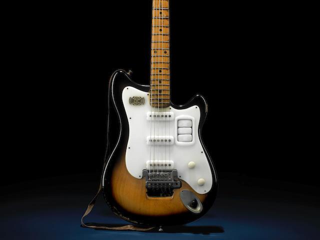 The Beatles: George Harrison's Futurama electric guitar, circa 1958,