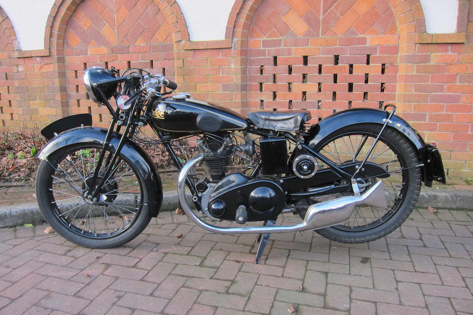 c.1931 Rudge Whitworth 249cc Radial Frame no. 45690 Engine no. 127