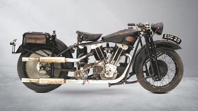 1938/31 OEC 1,000cc 'Flying Squad' Frame no. DSPS176 Engine no. JTO/H14327/S