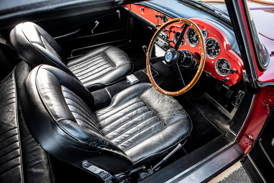 Certified with Aston Martin Assured Provenance – Gold Standard,1963 Aston Martin DB4 Series V Convertible  Chassis no. DB4C/1092/R