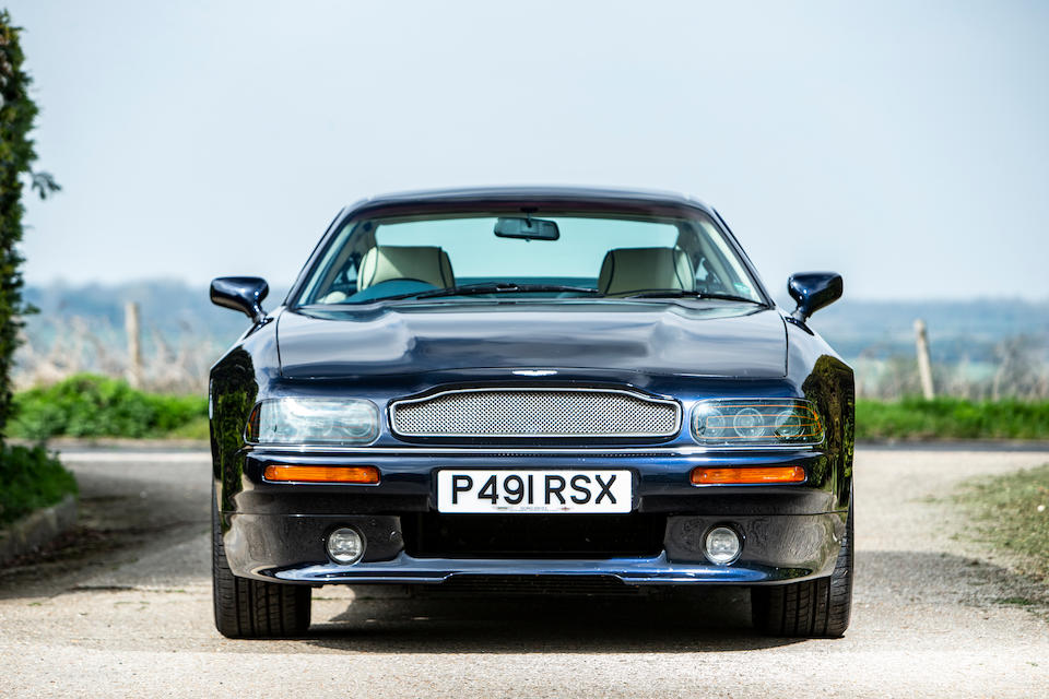 One owner from new,1996 Aston Martin V8 Coupé  Chassis no. SCFDAM2S9TBTR79009