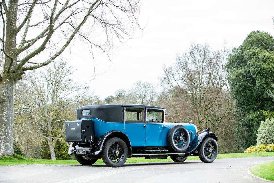 1928 Bentley 6½-Litre Standard Six Saloon  Chassis no. FA2504
