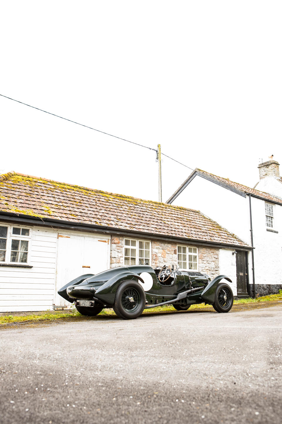 The factory press car; ex-Earl Howe,1938 Lagonda V12 'LE MANS REPLICA' Two-Seater  Chassis no. SS 19221