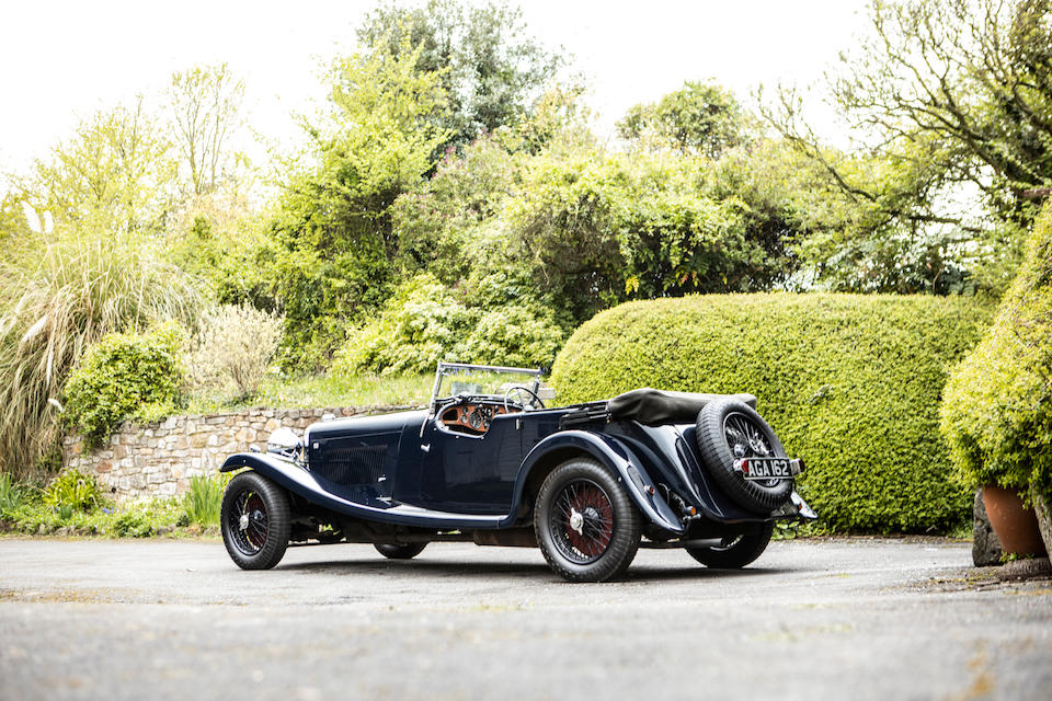 From the collection of the late Barry Burnett,1936 Lagonda LG45  T8 Replica Tourer  Chassis no. 12017