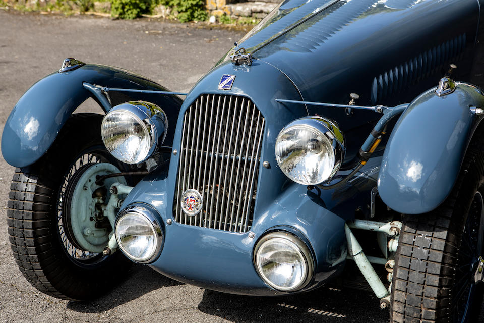 From the collection of the late Barry Burnett,1936 Talbot Lago T23 4.0-Litre Le Mans Tourer Re-creation  Chassis no. 930200465169