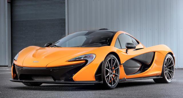 The New York Motor Show and Geneva Salon,2013 McLaren P1 XP (Experimental Prototype) Coupé  Chassis no. SBM12ABB3BW990006