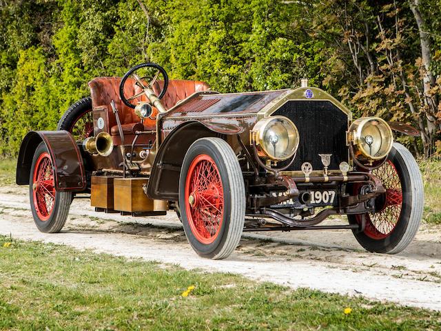 The ex-Ernest Eldridge, Douglas Fitzpatrick and Norman Cole,1907 Métallurgique-Maybach 21-Litre Three-Seater Special