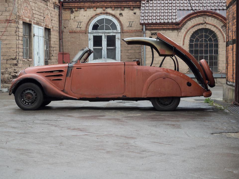 1936  Peugeot 402 Eclipse E4 Coupé Cabriolet Project  Chassis no. 601504