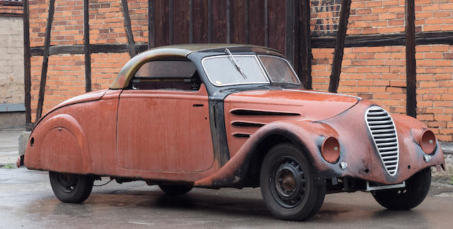1936  Peugeot 402 Eclipse E4 Coupé Cabriolet Project  Chassis no. 601504