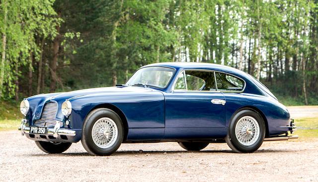Mille Miglia eligible,1955 Aston Martin DB2/4 3.0-Litre Sports Saloon  Chassis no. LML/948