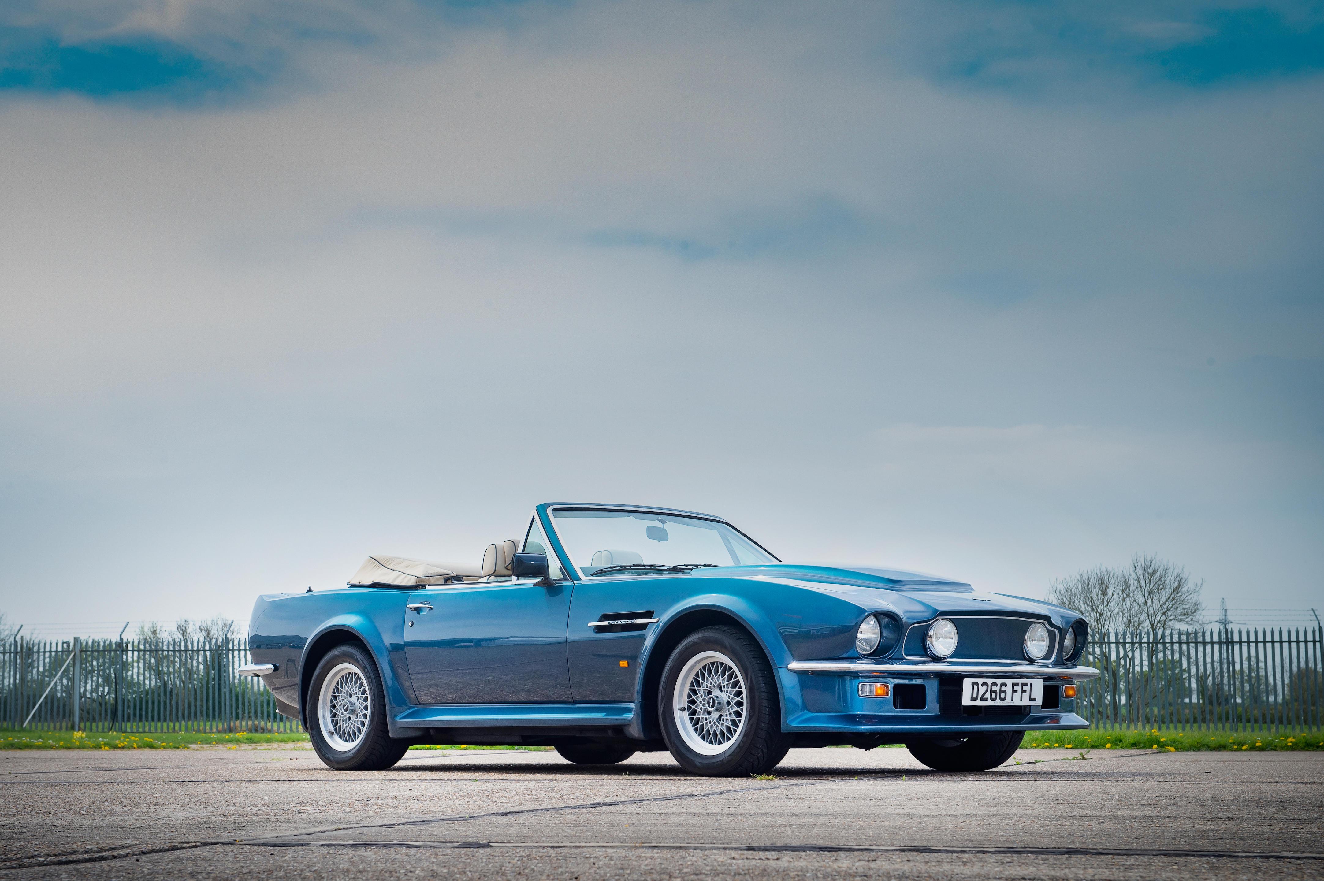 1987 Aston Martin V8 Vantage X Pack Volante Auktionen Preisarchiv