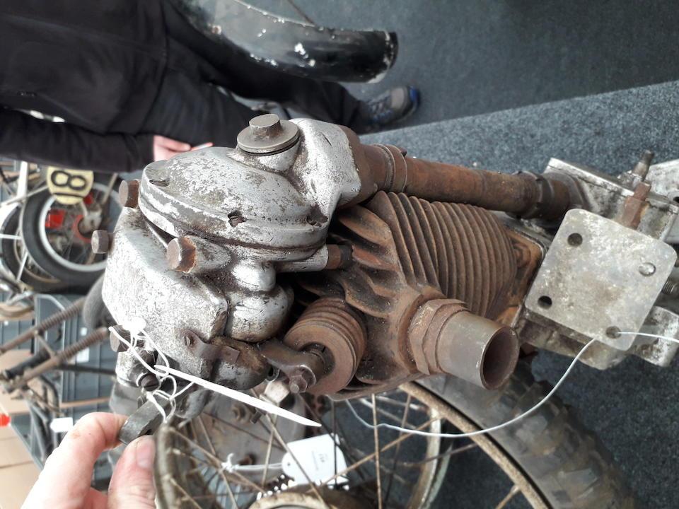 c.1931 Velocette 348cc Project Frame no. KV-4055 Engine no. KTT168