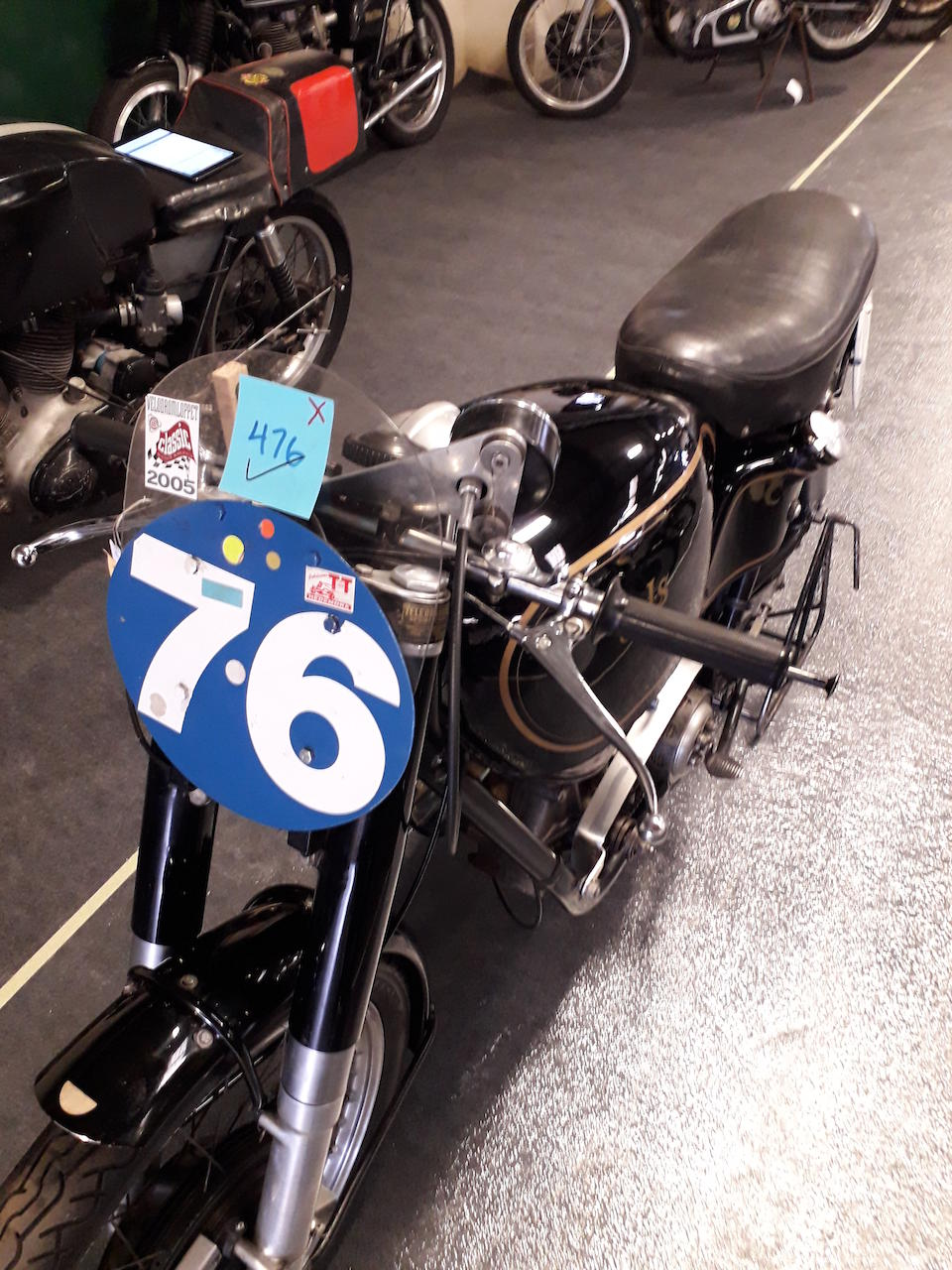 1950 AJS 350cc 7R Racing Motorcycle  Frame no. 1467  Engine no. 50/7R 867