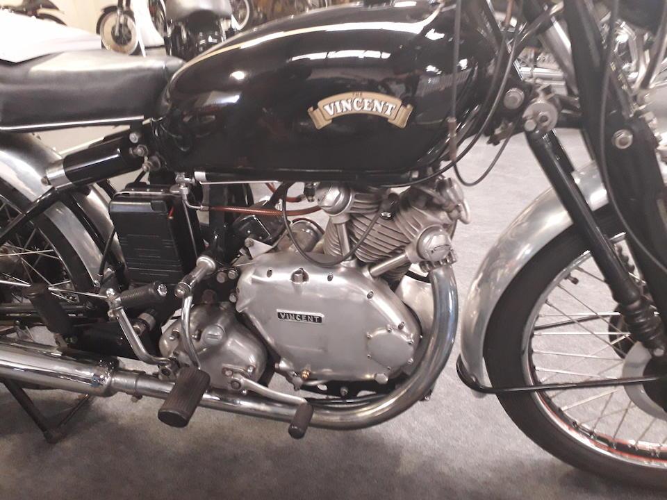 1951 Vincent 499cc Series-C Comet Frame no. RC/1/7723  Engine no. F5AB/2A/5823 Crankcase Mating nos. 75T / 75T