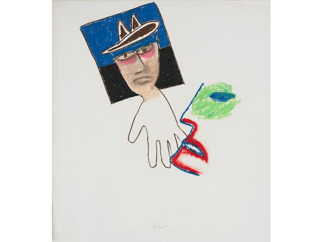 Sidney Nolan (1917-1992) Self Portrait, Ballarat, c.1973