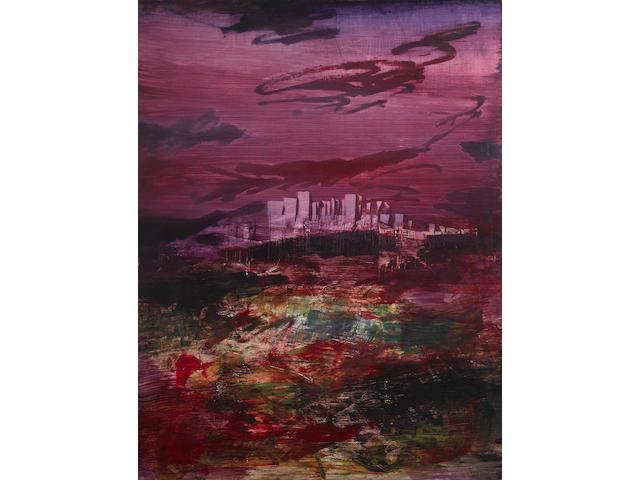Sidney Nolan (1917-1992) City, c.1962