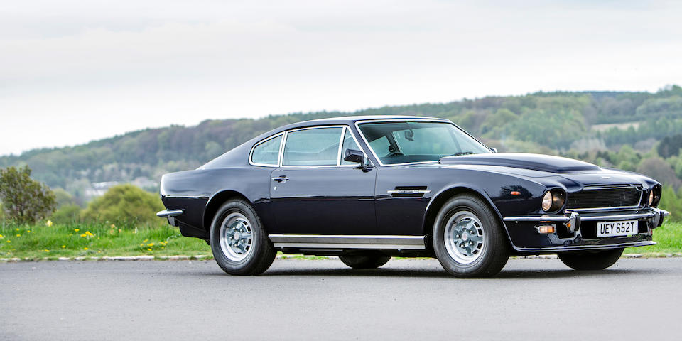 Property of a deceased's estate,1979 Aston Martin V8 Series 4 'Oscar India' Sports Saloon  Chassis no. V8SOR 12147
